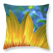Sunflower Sunshine Throw Pillow