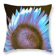 Sunflower Dusk Throw Pillow