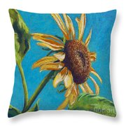 Sunflower's Shine Throw Pillow