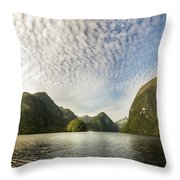 Sunglow In Middle Earth Fantasy-land Throw Pillow