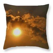 Sunglow Throw Pillow