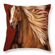 Sunhorse Throw Pillow