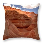 Sunkiss At Coyote Buttes Throw Pillow