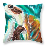 Sunkissed Throw Pillow