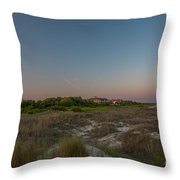 Sunkissed Twilight Throw Pillow