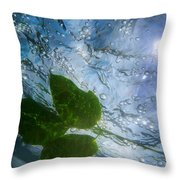 Sunleaf No.2 Throw Pillow