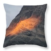 Sunlight Mountain Throw Pillow