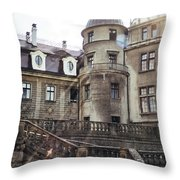 Sunlight On Moszna Throw Pillow