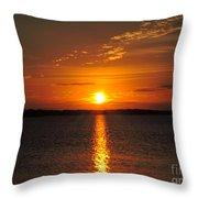 Sunlight Path Throw Pillow