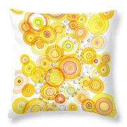 Sunlight Ripples Throw Pillow
