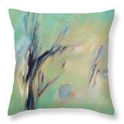 Sunlight Through The Oaks Throw Pillow