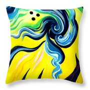 Sunlight, To Erase The Negative Energy Throw Pillow