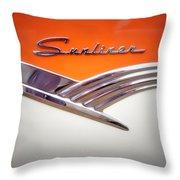 Sunliner Throw Pillow