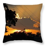 Sunlit Heaven's Throw Pillow