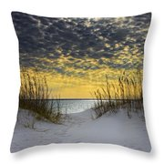 Sunlit Passage Throw Pillow