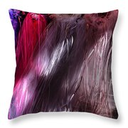 Sunlit Veils  Throw Pillow