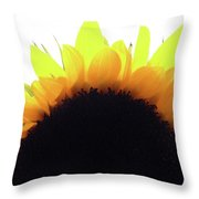Sunflower Rise Throw Pillow