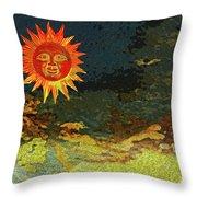 Sunny 1 Throw Pillow