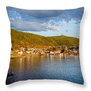 Sunny Bay Throw Pillow