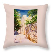 Sunny Day. Throw Pillow