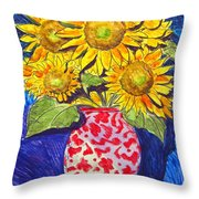 Sunny Disposition Throw Pillow