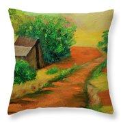 Sunny Horizons Throw Pillow
