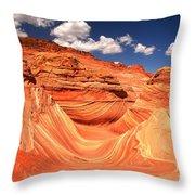Sunny Northern Arizona Landscape Throw Pillow