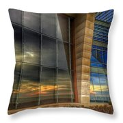 Sunny Reflections Throw Pillow