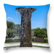 Sunnylands Fountain 2 Throw Pillow