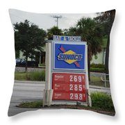 Sunoco Bait And Tackle Throw Pillow
