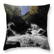 Sunrays And Sparkles Throw Pillow