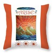 Sunrays - Arise New Day Throw Pillow
