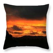Sunrise 09 29 17 Throw Pillow