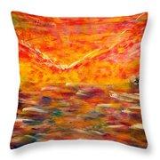Sunrise #2 15-8 Throw Pillow