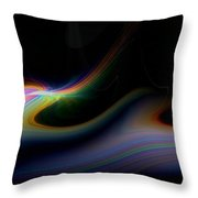 Sunrise Abstract 2 Throw Pillow