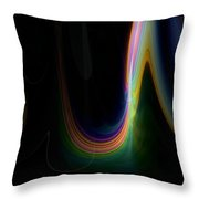 Sunrise Abstract 3 Throw Pillow