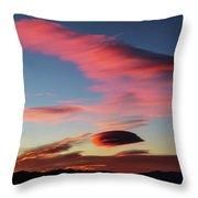 Sunrise Artwork Throw Pillow