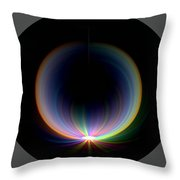 Sunrise At 30k  1 Throw Pillow