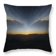 Sunrise At 30k  10 Throw Pillow