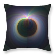 Sunrise At 30k  2 Throw Pillow