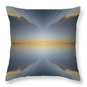 Sunrise At 30k  5 Throw Pillow