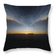 Sunrise At 30k  9 Throw Pillow