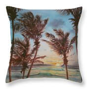 Sunrise At Cattlewash 3 Throw Pillow