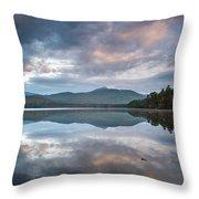 Sunrise At Chocorua Lake -2 Throw Pillow