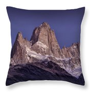 Sunrise At Fitz Roy Patagonia 8 Throw Pillow