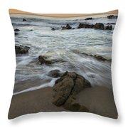 Sunrise At Laguna Beach Throw Pillow