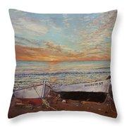 Sunrise At Las Negras Throw Pillow