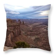 Sunrise At Mesa Arch - Canyonlands National Park - Moab Utah Throw Pillow