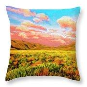 Sunrise At Montana De Oro Throw Pillow