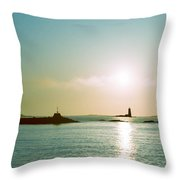 Sunrise At Odiorne Point 2 Throw Pillow